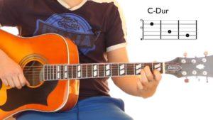 Gitarre lernen für Anfänger Lieder