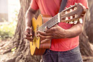 Konzertgitarre beim Flamenco