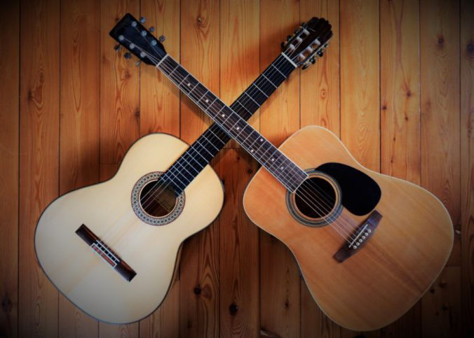 Unterschied Westerngitarre und Konzertgitarre