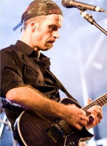 E-Gitarre lernen mit Online Gitarrenkurs von Andreas Vockrodt.