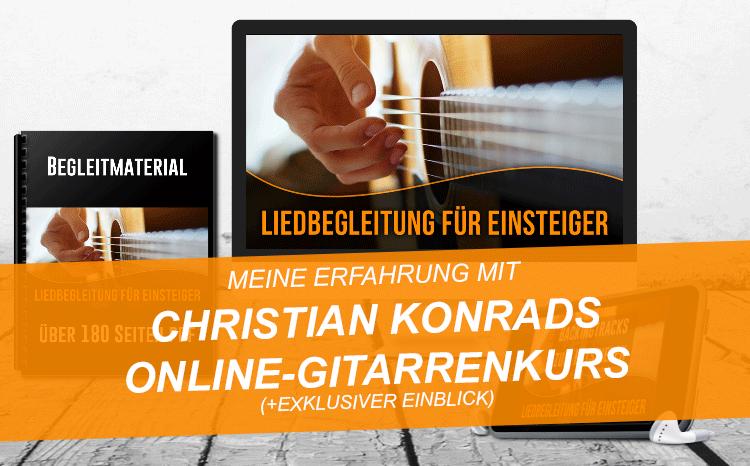 Gitarre lernen online mit Christian Konrad