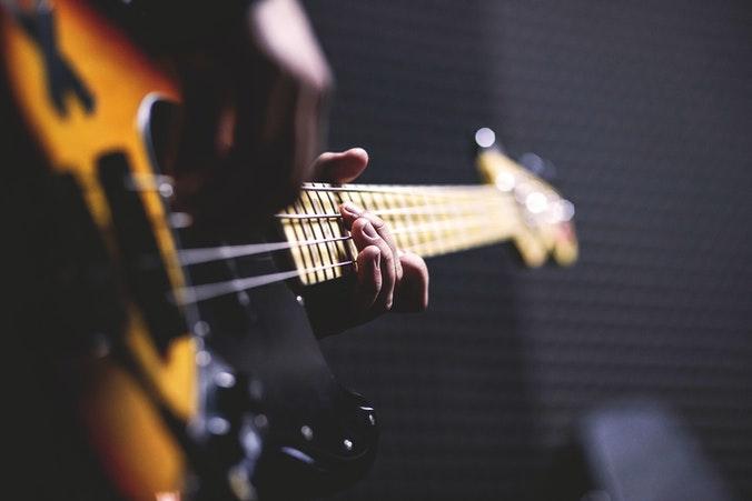 Bassgitarrre lernen online