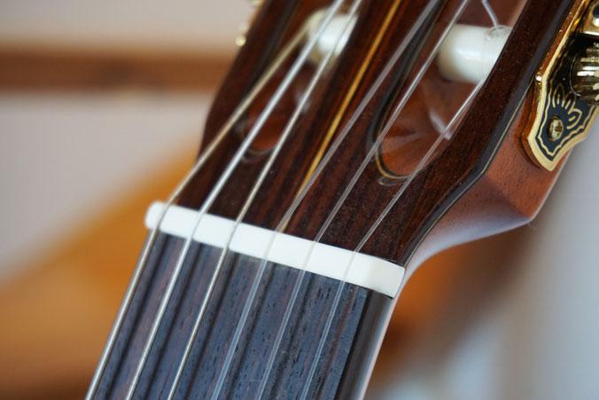 Gitarrensaiten aus Nylon für die Konzertgitarre