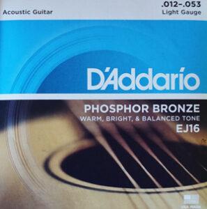 Gitarrensaiten kaufen Westerngitarre A'Addario EJ16 Phosphor Bronze