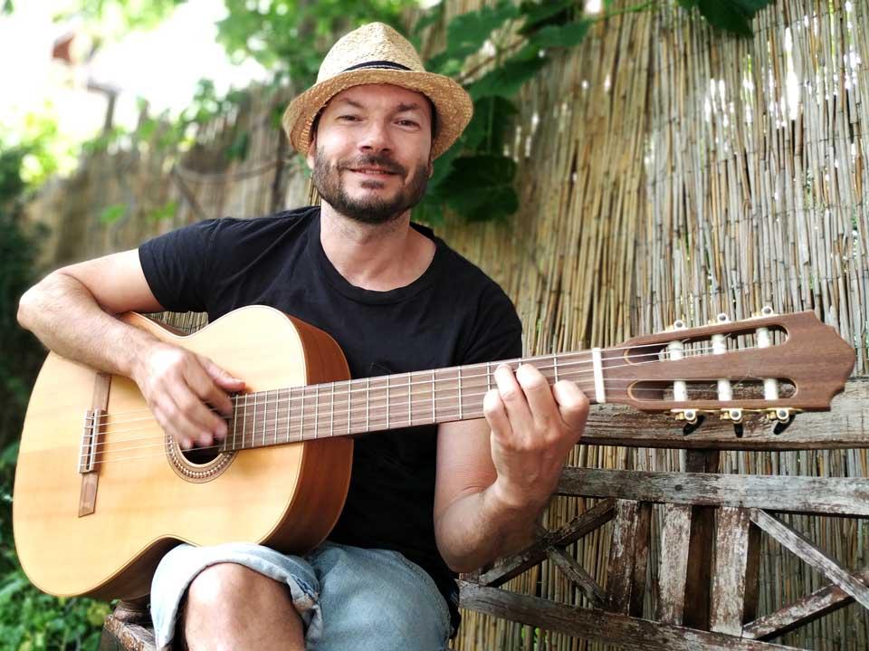 Online Gitarrenkurs Ben
