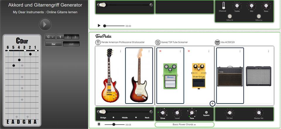 Akkord-Toll und Effekte-Tool von My Dear Instruments