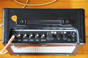Fender Mustang Modeling Amp von oben
