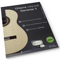 Begleitbuch Gitarre online elementar Norman Gänser
