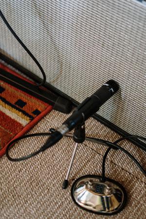 dynamisches Mikrofon Aufnahme Gitarre
